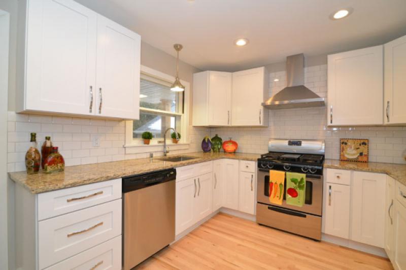 Elegant white shaker rta kitchen cabinets - Elegant white kitchen cabinets ...