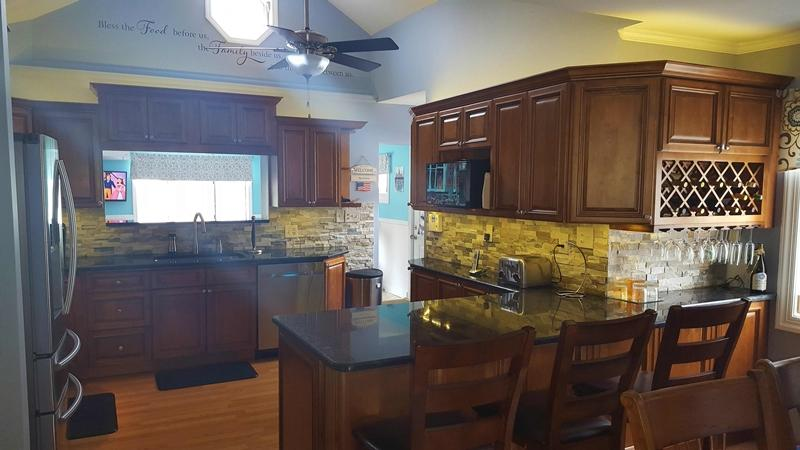 Rustic Brown Kitchen Cabinets Rta Cabinet Store