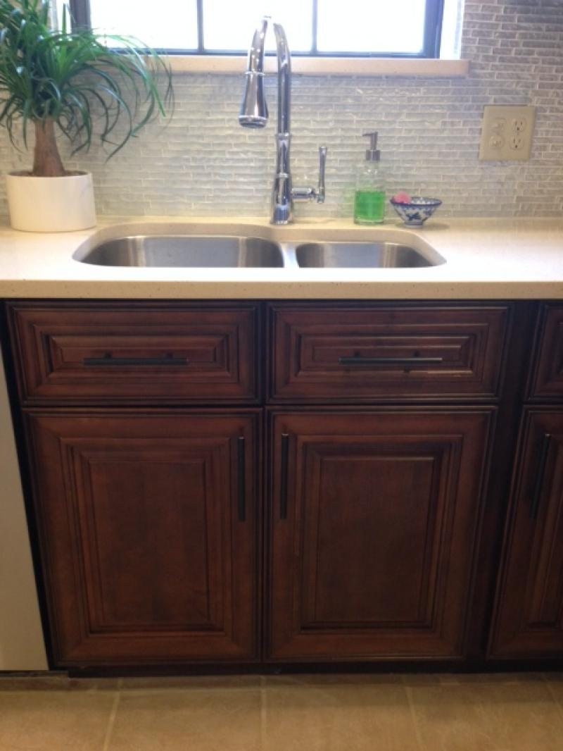 The rta cabinet store - Beaumont Kitchen With Farm Sink